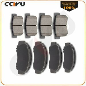 Front And Rear Premium Ceramic Discs Brake Pads For Acura Tl Cl Integra Vigor