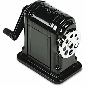 X acto Elmers Ranger 55 Table Or Wall mount Heavy duty Pencil Sharpener Black