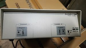 Clear com Ps 22 Ps22 Power Supply Intercom Base Station Clearcom Theatre