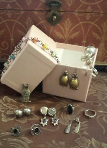 Wearable Retail Lot Sterling Silver 925 Bracelets Necklaces Rings