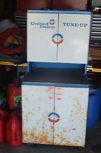 United Delco Tune Up Cabinet Full Of New Parts In Original Packaging