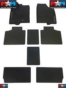 2013 2019 Toyota Sienna Floor Mats All Weather Liners 8pc Genuine Pt908 08170 02