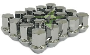 24 Gmc Sierra Oem Factory Chrome Style Lug Nuts 14x1 5 22mm Hex Oem Perfect Fit