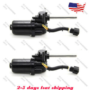 Set Right Left Side Power Running Board Motor For Lincoln Navigator Ford 5 4l