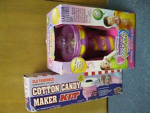 Cotton Candy Maker Kit With Supplies New