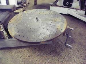 15 Troyke Horizontal Mount Rotary Table Bh 15 With Top Plate