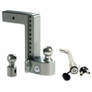 Weigh Safe Ws10 2 5 Adjustable Hitch Mount W Keyed alike 3 5 X 5 8 Lock