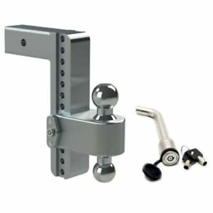 Weigh Safe Ltb10 2 5 Adjustable 180 Hitch Mount W Keyed alike 3 5 x5 8 Lock