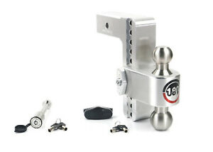Weigh Safe Ltb8 2 5 Adjustable 180 Hitch Mount W Keyed alike 3 5 X 5 8 Lock
