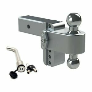 Weigh Safe Ltb4 2 5 Adjustable 180 Hitch Mount W Keyed alike 3 5 X 5 8 Lock