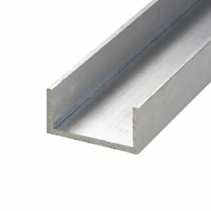 6063 t52 Aluminum Architectural Channel 2 X 2 X 48 1 4