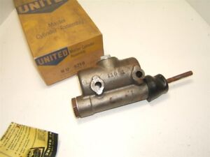 1947 50 Chevrolet Truck Master Cylinder Vintage Usa Made New 1 2 Ton