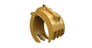 New 54 Heavy Duty Excavator Grapple For Cat 324