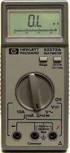 Hp Agilent Keysight E2373a Multimeter