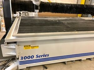2010 Multicam Zero Hour 3000 Series Waterjet Cutting System 1970