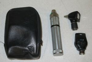 Welch Allyn 3 5v Otoscope Ophthalmoscope Diagnostic Kit 20000a 11720 71050 c