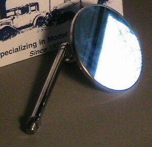 1930 1931 Model A Ford Ratrod Streetrod Windshield Staunchion Mirror Open Cars
