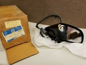 1988 1996 Corvette Rear View Heated Mirror Right Pass Side Gm 10075274 Nos