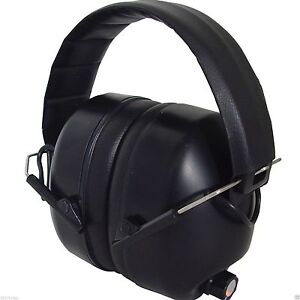 New Electronic Hearing Ear Muffs Firearm Safety Noise Cancelling Headphones
