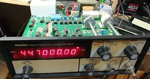 Heathkit Im 2420 Digital Frequency Counter Clean Calibrated Working Accurate