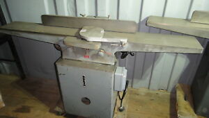 Delta 8 Jointer 220 Volt Professional Long Bed Precision Heavy Duty Excellent