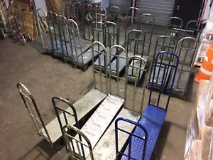 U Boat Stock Carts Used Lot 13 Warehouse Backroom Store Cart Material Handling