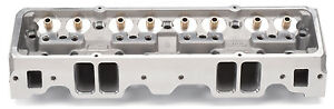 Edelbrock 5086 Aluminum Cylinder Head E Series E 210 Sbc Small Block Chevy Bare