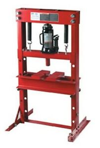 12 Ton Hydraulic Bench Press With Bottle Jack Atd 7452 Brand New