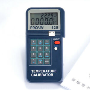 1pc New Prova 125 Temperature Calibrator