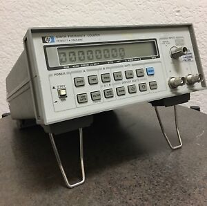 Hp Agilent 5384a Frequency Counter 10hz 225mhz Opt 001 003 005 read Full Ad