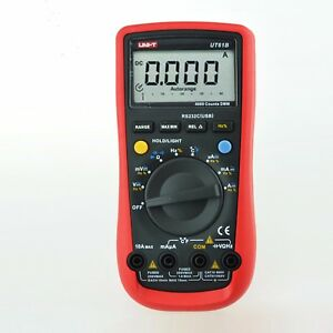 1pc Non contact Voltage Tester Ac Dc Voltage Uni t Ut61b Frequency Multimeter