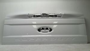 2017 18 Ford F250 F350 Super Duty Tailgate Shell White Oem