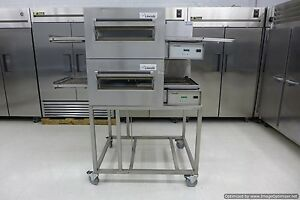 Lincoln 1132 Double Electric Conveyor Pizza Sandwich Oven Convection Middelby