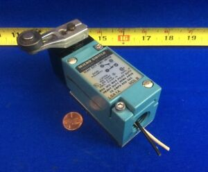 Micro Switch Lsa1a Heavy Duty Limit Switch W Roller Lever Arm 10a 600vac