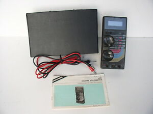 Micronta 22 185 Lcd Digital Multimeter