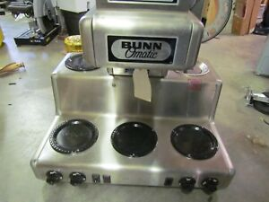 Bunn Bunn o matic Rl35 Commercial Automatic 5 Warmer Coffee Maker Unused