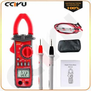 Digital Lcd Disaplay Clamp Ac dc Multimeter Amp Volt Meter Resistance For Ut216c