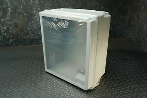 Hoffman A16148chqrfgw Window Enclosure Fiberglass 16 X 14 X 8