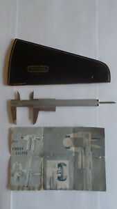 Craftsman Vernier Caliper 40254 Instructions Case Germany 6