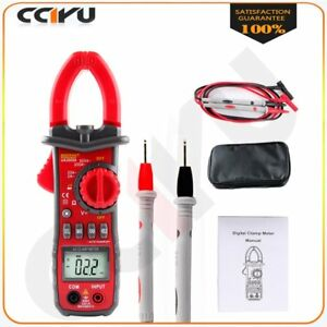 Digital Handheld Clamp Multimeter Tester Meter Dmm Ce Ac Dc Volt Amp For Ut216a