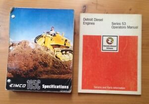 Eimco Tractor Manuals Compilation In Binder Form