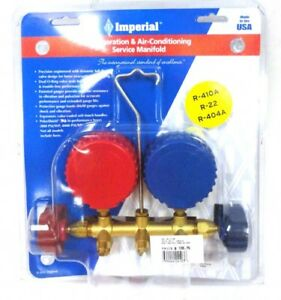 Imperial Refrigeration Charging Gauge Set With 60 Hoses