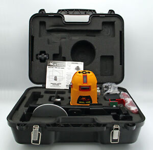 Pacific Laser Systems Pls Hvl 100 Red Tool Line Laser With Hard Case Pls 60560
