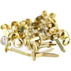 24mm Split Pins Paper Fastener Crafts Office Home Gold Or Silver Pin Clips