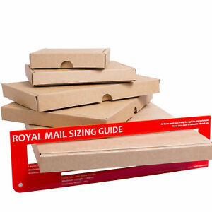 Royal Mail Large Letter Cardboard Box Shipping Mail Postal Pip C4 c5 c6 dl
