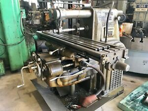 3h Kearney Trecker Universal Horizontal Milling Machine 50 Taper Tooled