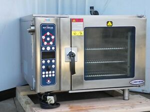Convection Oven Electric Combi Steamer Boilerless 7 14 Full Size 2011 Alto Shaam