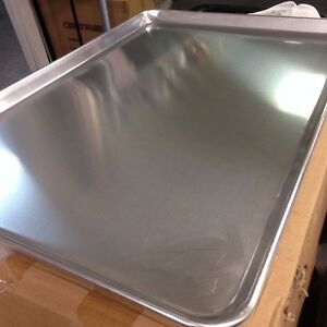Lot Of 12 Full Size 19 Gauge Aluminum Bun Pan Sheet Pan 18 X 26 Bakery Bake
