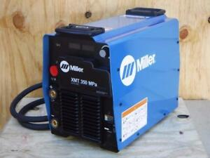 New Miller Xmt 350 Mpa Mig Pulsed Flux cored Stick Multiprocess Welder 907366002