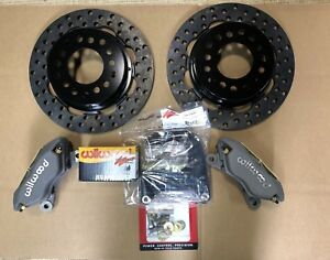 Wilwood Ford 9 Inch Drag Disc Brake Kit Big Bearing New torino 2 50 Backspace